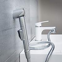 EISL DX25 洗手盆花洒,厨房、浴室、洗衣房或车间手持花洒,非常适合改装,使用方便,套装带软管(150 毫米)和适…