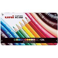 三菱铅笔 彩色铅笔 880 12色套装 12いろセット