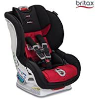 美版 Britax 宝得适 MARATHON ClickTight Convertible儿童安全座椅, RIO 里约红…