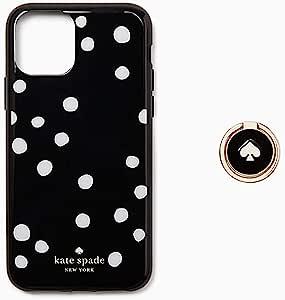 Kate Spade 凯特丝蓓 New York Ring & Dot Resin 带支架适用于 iPhone 11 Pro MAX 手机壳