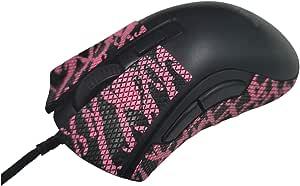 Gemini Mouse Grip 胶带兼容Razer DeathAdder V2 Mini,鼠标握把|鼠标皮,游戏鼠标皮,鼠标抓握,Razer 雷蛇鼠标抓带