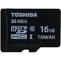 TOSHIBA 东芝 16G TF(microSDHC)存储卡(Class10) 黑色【全新40MB/s,新老批次随机发…
