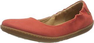 El Naturalista 女式珊瑚芭蕾平底鞋