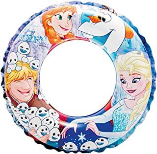 INTEX 浮雕圈 Disney 冰雪奇缘 游泳圈 51cm 56201 [日本正品]