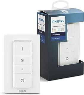 Philips 飞利浦 Hue 智能无线调光开关V1(安装用于飞利浦Hue灯),可与Alexa,Google助手和Apple HomeKit一起使用