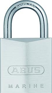 ABUS 28635 不锈钢挂锁 黄铜材质 带可翻转钥匙