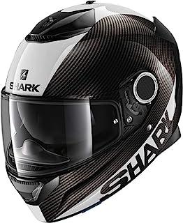 鲨鱼摩托车头盔 SPARTAN CARBON 1.2 皮肤 XL 黑色 HE3400EDWSXL