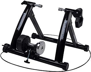 TACXMOTORRAD 室内自行车训练器 磁性自行车固定支架 适合室内锻炼骑行 便携 快速释放 叉子和前轮立管块