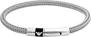 [安普里奥·阿玛尼] EMPORIO ARMANI 不锈钢 EMPORIO ARMANI 手镯 银 EGS1623040