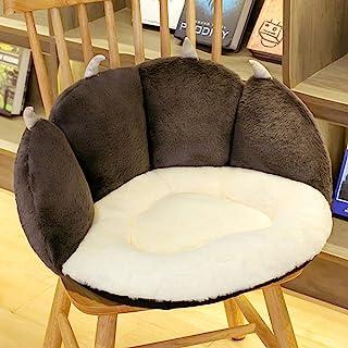 可爱猫爪垫猫爪形状坐垫懒人沙发办公椅地板坐垫舒适软腰枕头垫家居装饰毛绒玩具适合办公室工人儿童女朋友礼物