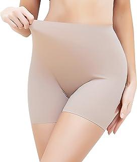 MISS MOLY 下装短裤女式无缝塑形平角短裤防擦伤大腿*内裤