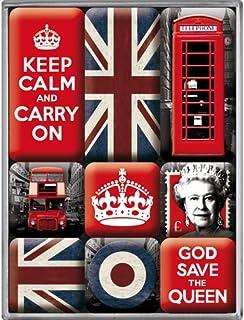Nostalgic Art 83059 英国,冰箱贴 9件套