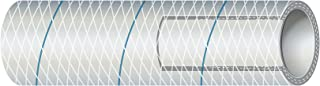 Sierra International 透明白色 PVC 管状涤纶 加强型 Blue-Tracer 1.91cm x 63.50m 划船五金件及维修用品