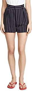 BB Dakota 女士条纹纱染色西装短裤