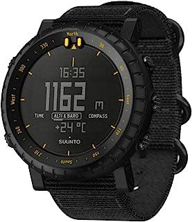 Suunto Core 户外手表 w/Altimeter, 气压计和指南针 - 黑色/黄色