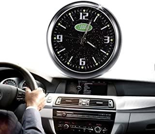 汽车仪表板迷你时钟汽车时钟汽车时钟替换内饰夜光电子石英手表饰品带通风孔夹重新调整内部