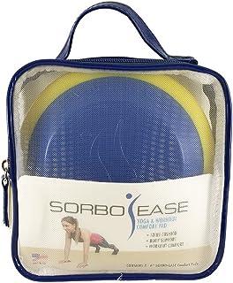 Sorbo-Ease 瑜伽和锻炼舒适垫 - 2 件套,带旅行包