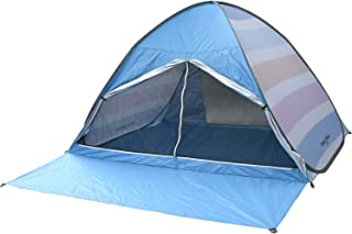 山善 Campers Collection 弹出式帐篷 约 3 人用 带前苫布 200×150 厘米 扎染 / 原色 EPS-6UV