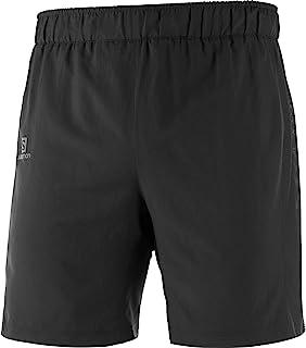 Salomon 萨洛蒙 Agile 二合一男式跑步短裤