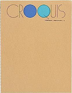 Maruman 优质绘画垫和书籍 L - 蓝色封面
