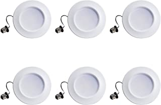 "Philips 801043 LED myLiving 可调光 10.16 厘米筒灯嵌入式照明灯具:660 流明, 5""/6"" 801274"