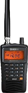 Uniden Bearcat SR30C,500-波段小型手持式扫描仪,近距离射频捕捉,涡轮搜索,PC可编程,NASCAR,赛车,航空,海事