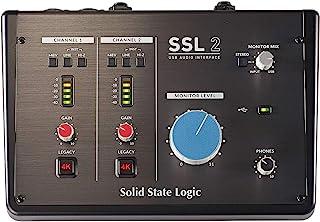 Solid State Logic SSL 2 麦克风放大器 USB 2.0 音频接口