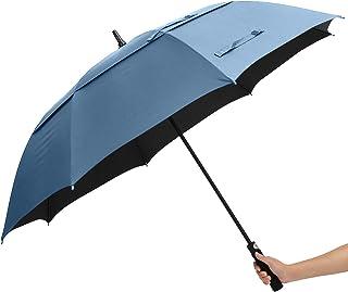 ABCCANOPY 高尔夫雨伞双伞大防风防水*面料防紫外线99.98% 自动打开棒雨伞