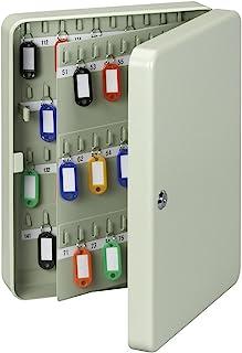 Maul 钥匙盒 140 把钥匙 37 × 28.5 × 8 厘米 (长 × 宽 × 深) 钢柜 灰色 5659284 1 件