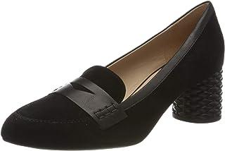 Geox 女士 D Ortensia Mid B 包头高跟鞋