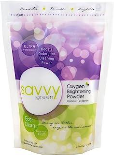 Savvy Green -超集中氧气照亮的粉末- 2.5 磅。
