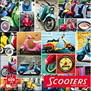 Re-Marks Scooters 500 片拼圖