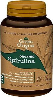 Green Origins *螺旋藻片剂 500毫克,180片