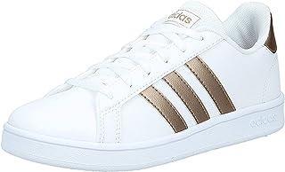 adidas 阿迪达斯 中性儿童Grand Court K网球鞋