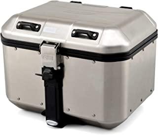GIVI 摩托车用 后箱 46L 银色 单钥匙包 铝制 TREKKER DOLOMITI DLM46A 95036