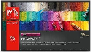 Caran D'ache Neopastel - 一套 96 件 - 各种颜色 (7400.396)