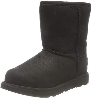 UGG 中性儿童经典天气短靴
