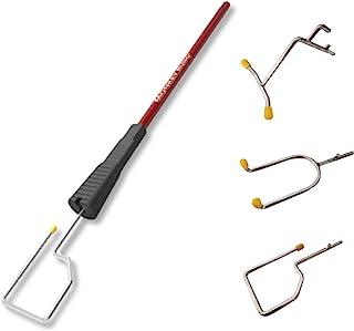 梯子配件带不锈钢可互换附件轻便易安装 适用于大多数主要梯子品牌 作为油漆罐 梯子挂钩、梯子托盘或梯子架