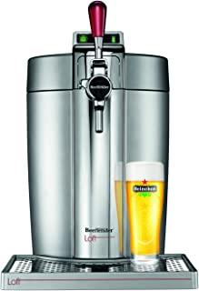 Krups VB700E00 Beertender Loft Edition 啤酒杯,银色/铬