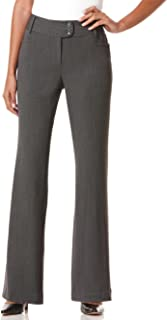 Rafaella 女式娇小曲线修身华达呢长裤