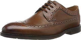 Clarks 男士 Ronnie Limit 粗革皮鞋