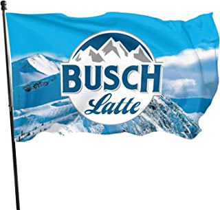 Lemuvlt Bus-ch 灯旗 3x5 英尺,耐用聚酯派对家庭花园旗帜装饰,户外旗帜装饰横幅