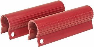 RITE-HITE 电机稳定夹子 - 红色,适用于电机拖车设备,在拖车下路时使电机不摇晃一侧到另一侧,随附 2 件装