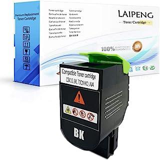 LAIPENG 兼容硒鼓 CS310 CS410 CS510 黑色高容量 4000 页 适用于 Lexmark 打印机 CS310dn CS310n CS310dn CS410dn CS410dtn CS510de CS510dte