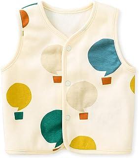 pureborn 婴儿保暖无袖夹克背心春季冬季儿童马甲 0-4 岁
