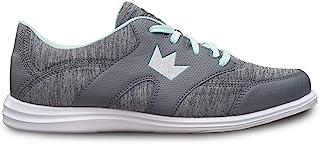 Brunswick 女式 Karma 运动保龄球鞋 - 灰色/薄荷色