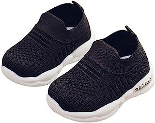 DEBAIJIA 学步鞋 3 – 18 个月 婴儿学步儿童 运动鞋 鞋底 防滑网眼 透气 轻质 TPR 材质 一脚蹬运动鞋