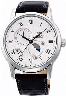 Orient 男式模拟自动手表皮革表带 FAK00002S0