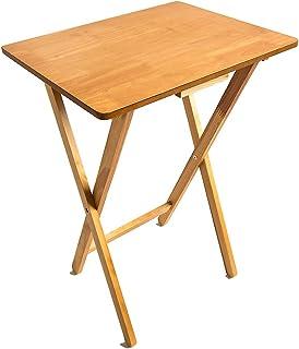 Home Vida 可折叠零食桌 木质 松木 古典