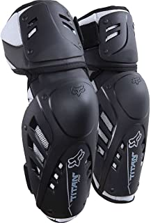 Fox Racing Titan Pro 成人护肘 MotoX 摩托车护甲 - 黑色 小号/中号 黑色 03432-001-S/M